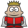 96x96px size png icon of King