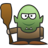 96x96px size png icon of Troll