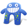 96x96px size png icon of Creature Blue
