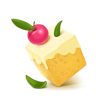96x96px size png icon of Box 03 Cake Cherry