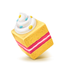 96x96px size png icon of Box 05 Cake Sweet