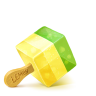 96x96px size png icon of Box 18 Ice Cream Fruid