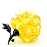 96x96px size png icon of Box 23 Rose Yellow