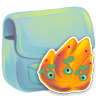 96x96px size png icon of Folder Burn