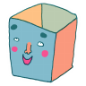 96x96px size png icon of Bin Empty 2