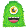 96x96px size png icon of Green Monster
