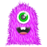 96x96px size png icon of Purple Monster