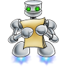 96x96px size png icon of robot documents