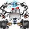 96x96px size png icon of robot network