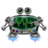96x96px size png icon of robot screen settings