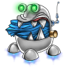 96x96px size png icon of robot trash full
