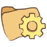 96x96px size png icon of folder programs