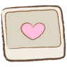 96x96px size png icon of image heart