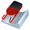 96x96px size png icon of luge