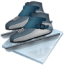 96x96px size png icon of short track speed skating