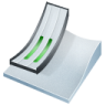 96x96px size png icon of ski jumping