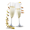 96x96px size png icon of Champagne