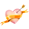 96x96px size png icon of Heart