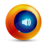96x96px size png icon of sound on