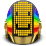 96x96px size png icon of Daft Punk Guyman Smile