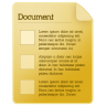 96x96px size png icon of document