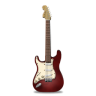 96x96px size png icon of guitar stratocaster red