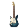 96x96px size png icon of guitar stratocaster turquoise