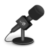 96x96px size png icon of microphone foam black