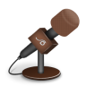 96x96px size png icon of microphone foam brown