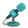 96x96px size png icon of microphone foam turquoise