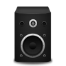 96x96px size png icon of speaker black