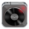 96x96px size png icon of music player grey metal
