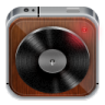 96x96px size png icon of music player wood