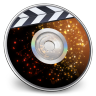 96x96px size png icon of iDVD Solar Flare