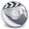 96x96px size png icon of iDVD Steel 01