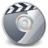 96x96px size png icon of iDVD Steel 02