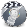 96x96px size png icon of iDVD Steel 03