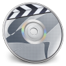96x96px size png icon of iDVD Steel 04