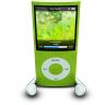 96x96px size png icon of iPodPhonesGreen
