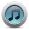 96x96px size png icon of iTunes simple