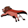 96x96px size png icon of Super Lion Pig