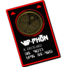 96x96px size png icon of vid phon card