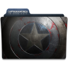 96x96px size png icon of Captain America Winter Soldier Folder 3