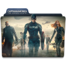 96x96px size png icon of Captain America Winter Soldier Folder 4