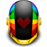 96x96px size png icon of Guyman Helmet Love