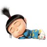96x96px size png icon of Agnes Sleeping