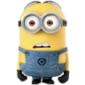 96x96px size png icon of Minion Amazed