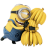 96x96px size png icon of Minion Bananas