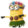 96x96px size png icon of Minion Dancing