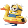 96x96px size png icon of Minion Duck